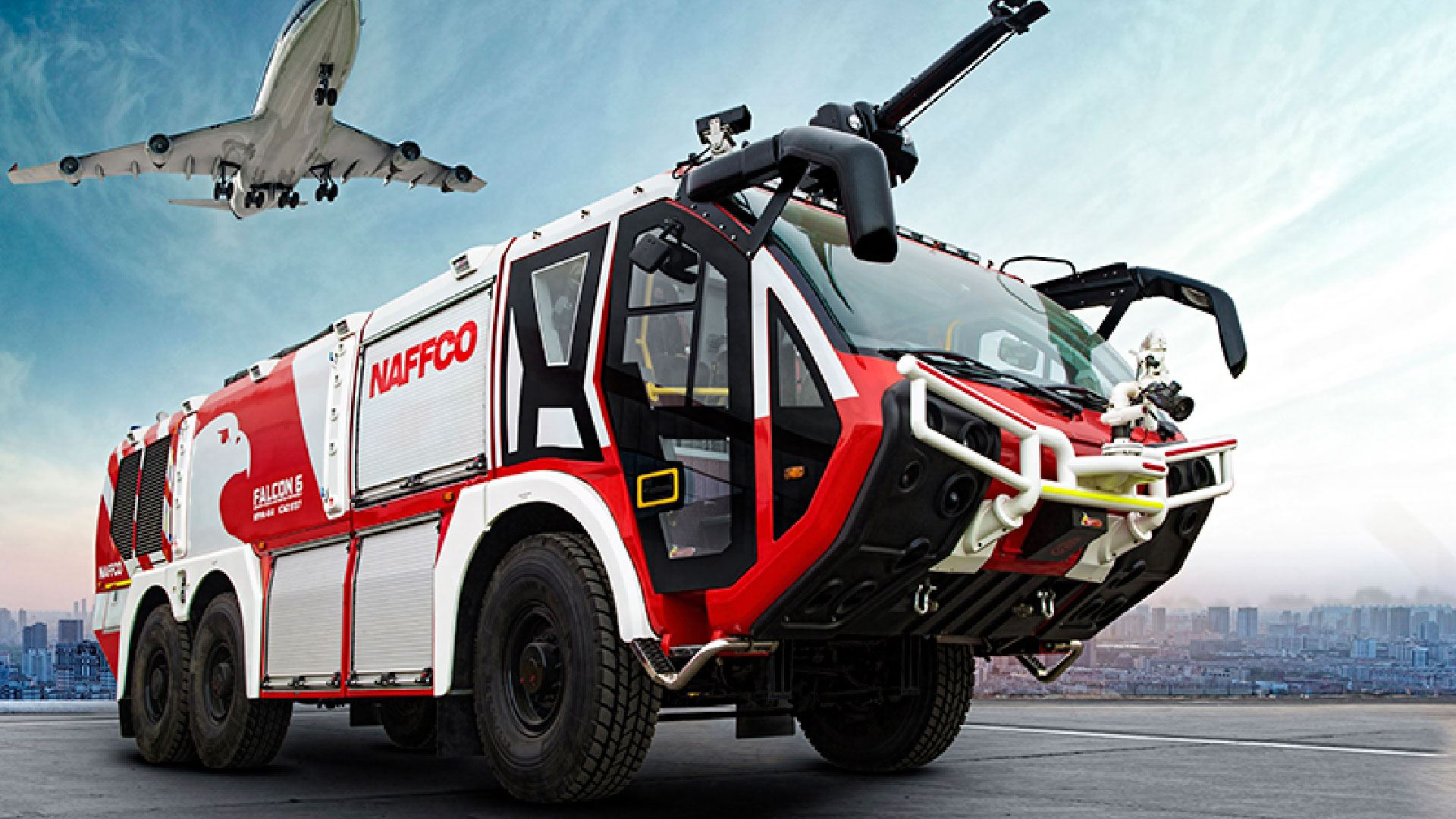 Airport Firefighter Vehicle