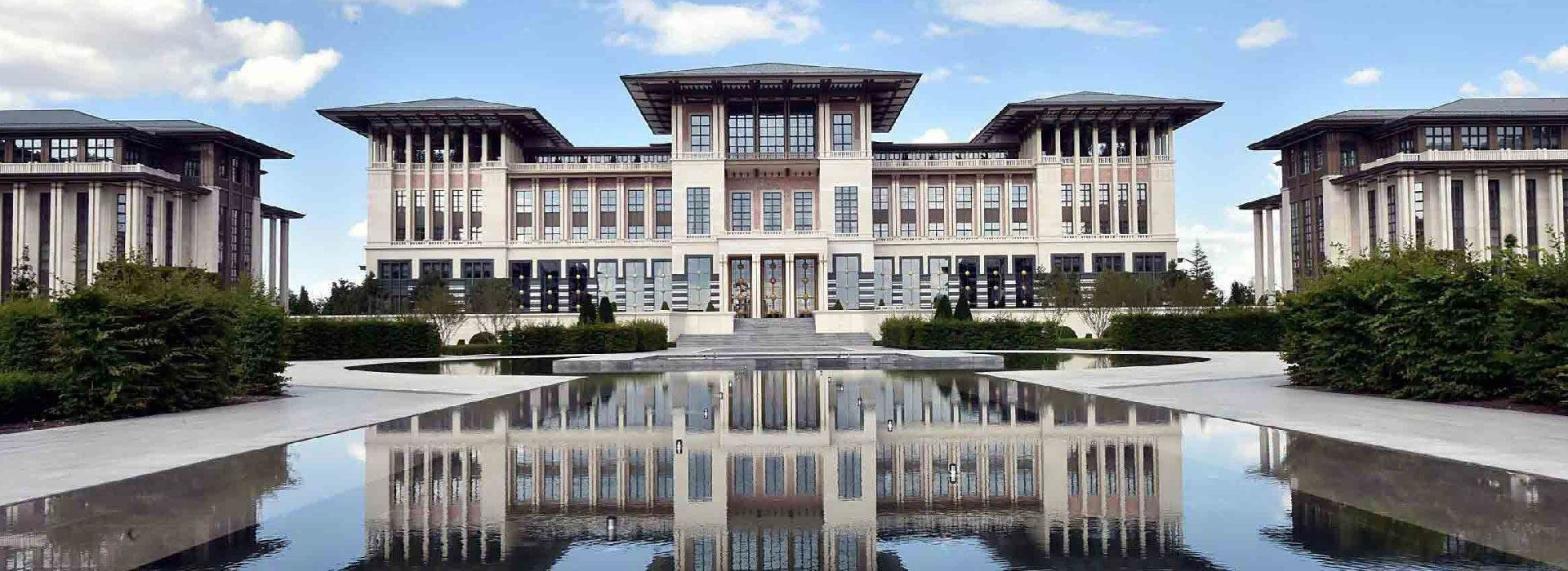 Presidential Palace of Turkish Republic Windows