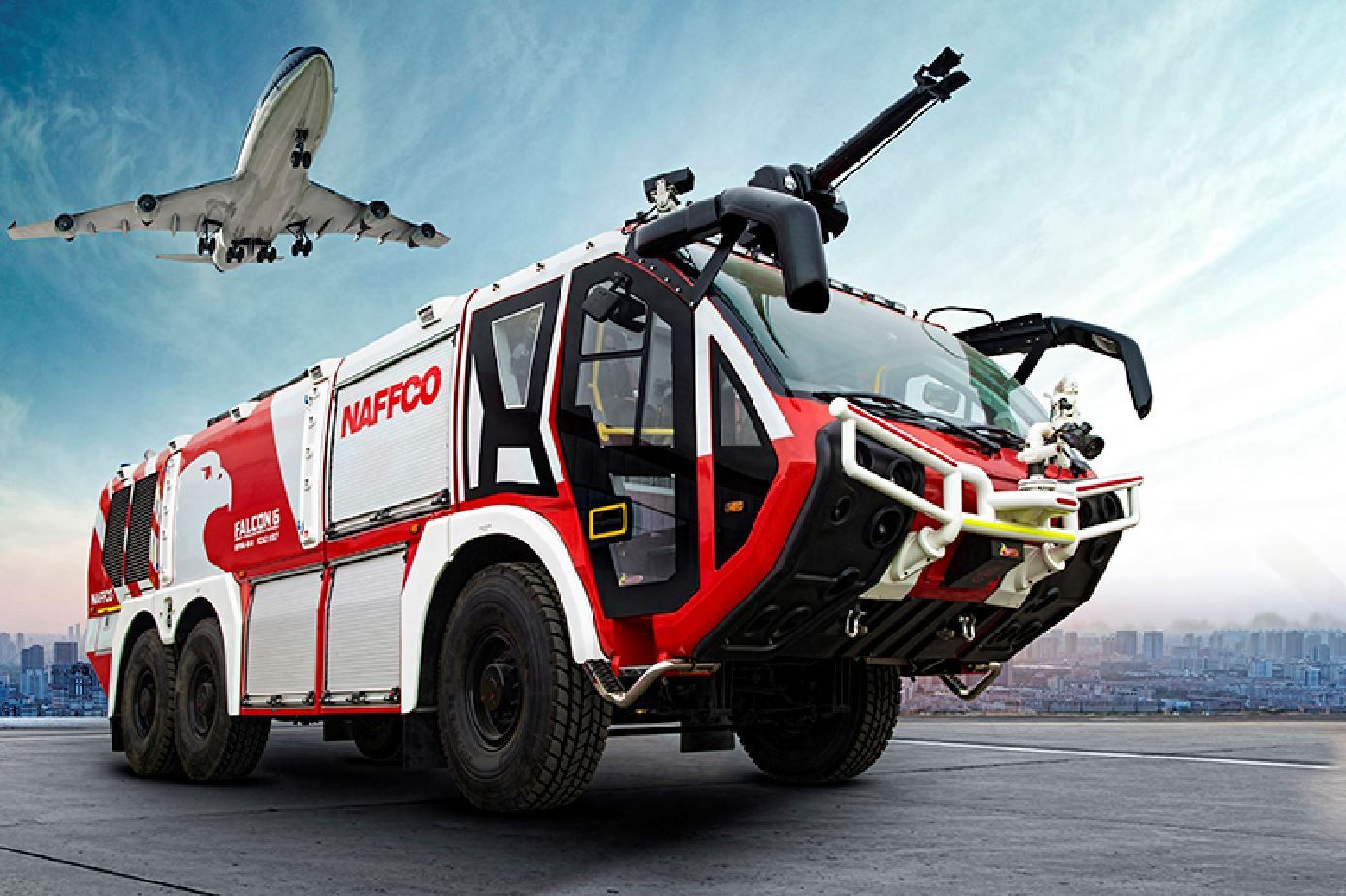 Picture of Airport Firefighter Vehicle