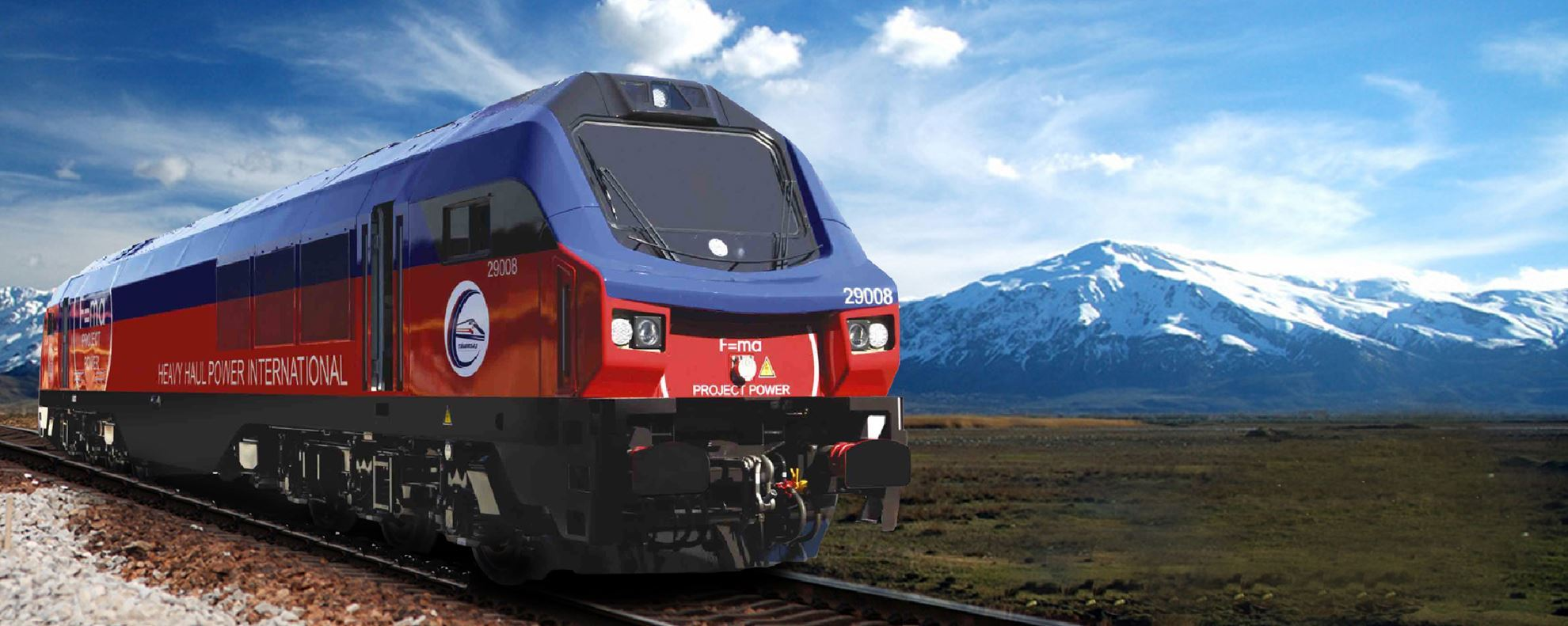 Picture of General Electric Locomotives