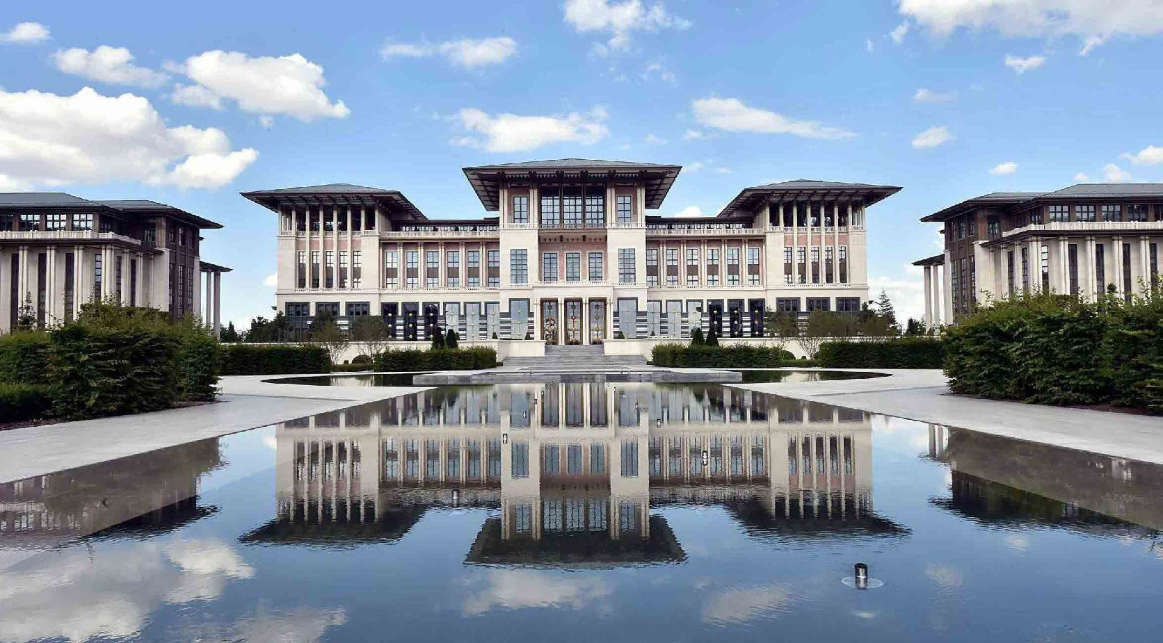 Picture of Presidential Palace of Turkish Republic Windows
