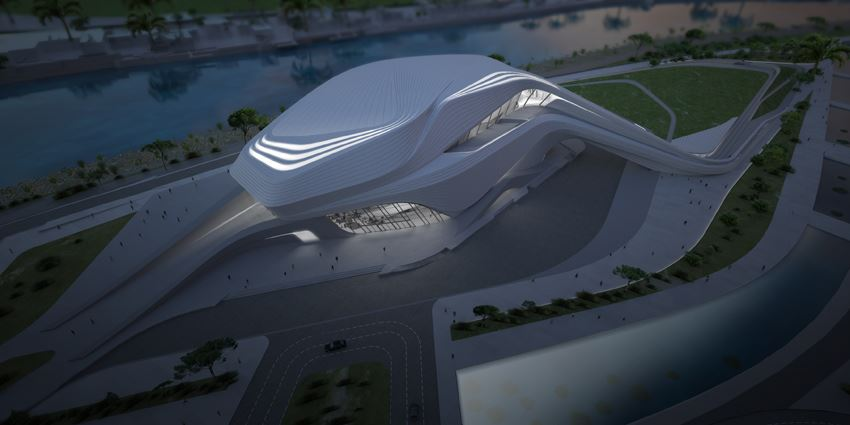 Grand Theatre de Rabat - Zaha Hadid Architects