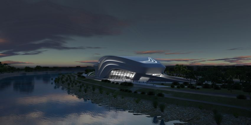 Picture of Grand Theatre de Rabat - Zaha Hadid Architects